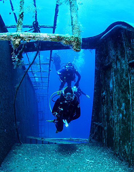 Diving in Ionian Sea
