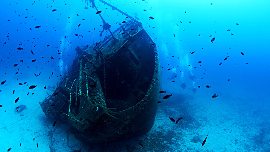 Diving in the Ionian Sea - GREECEFULLY