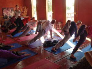 Yoga in Corfu