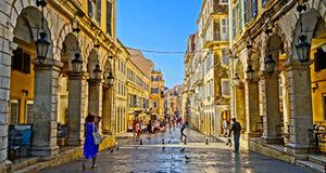 Corfu Town Streets